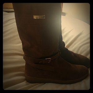 Coach Tallulah suede boots sz 10